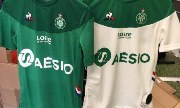 ASSE 2020 les nouveaux maillots de foot Saint-Etienne 2019-2020