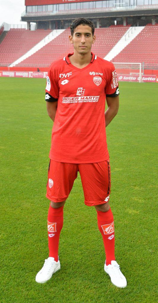 Dijon 2020 nouveau maillot de foot domicile