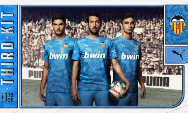 FC Valence 2020 de beaux nouveaux maillots avec Puma
