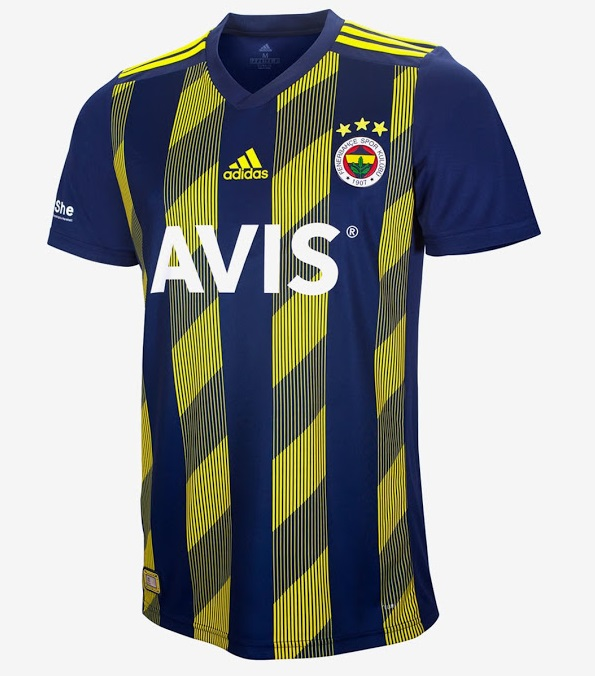 Fenerbahce 2020 maillot domicile foot