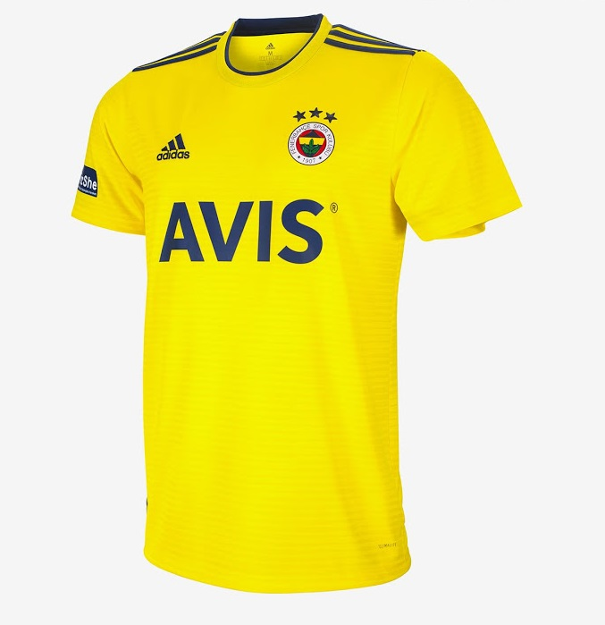 Fenerbahce 2020 maillot exterieur foot Adidas