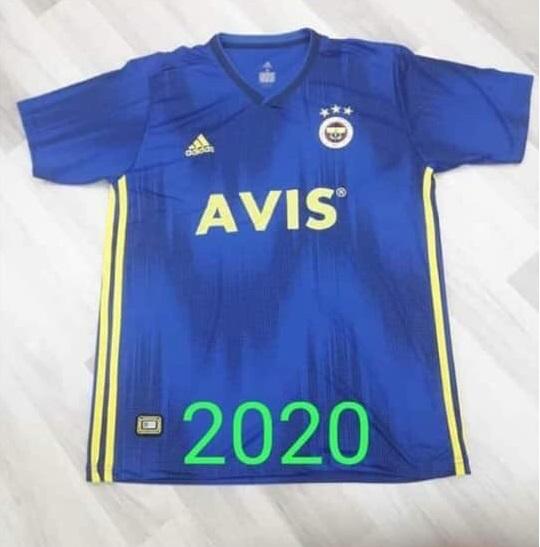 Fenerbahce maillot exterieur 2019 2020