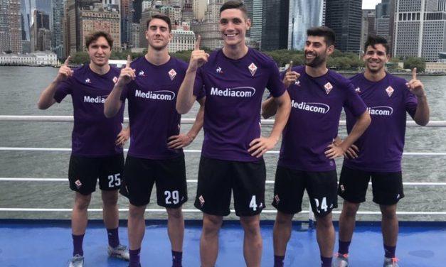 Fiorentina 2020 les nouveaux maillots de foot avec le Coq Sportif
