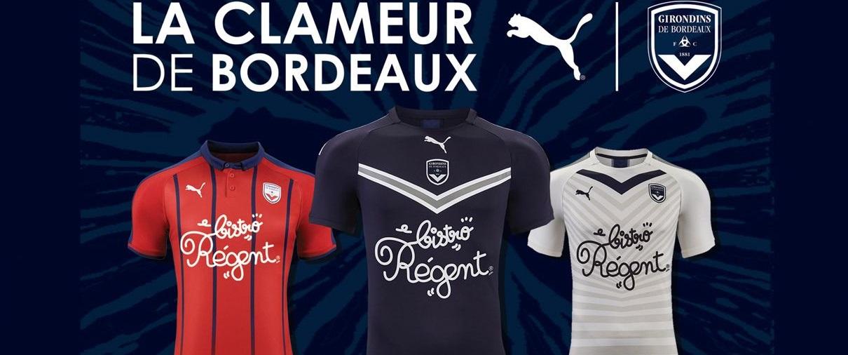 Girondins Bordeaux 2020 nouveaux maillots de foot