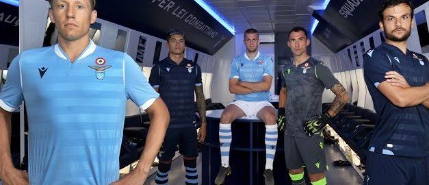 Lazio 2020 les 3 nouveaux maillots de football sont officiels