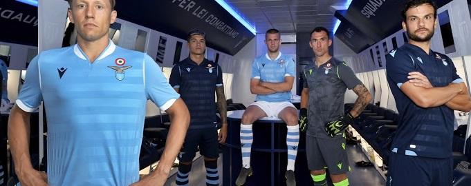 Lazio Rome 2020 nouveaux maillots foot Macron