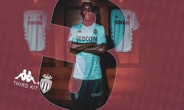 Monaco 2020 les nouveaux maillots de foot avec Kappa