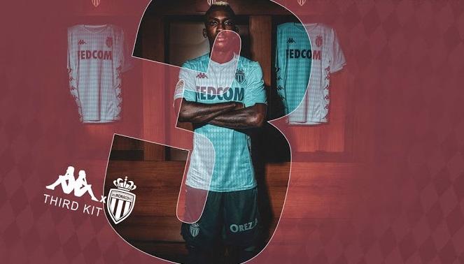 Monaco 2020 maillot third 19 20