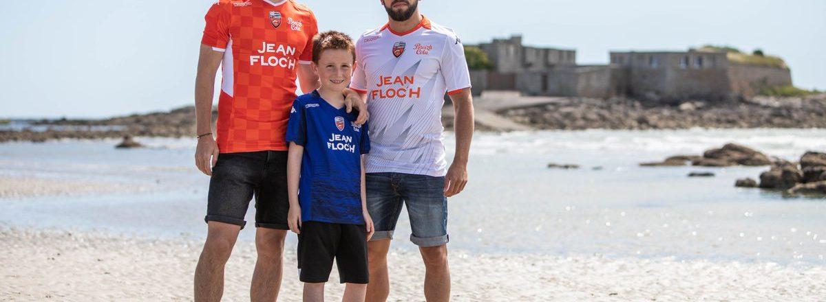 Nouveaux maillots foot Lorient 2020