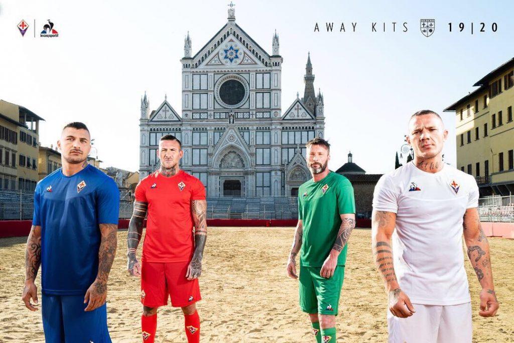 Nouveaux mailots de foot Fiorentina 2019 2020
