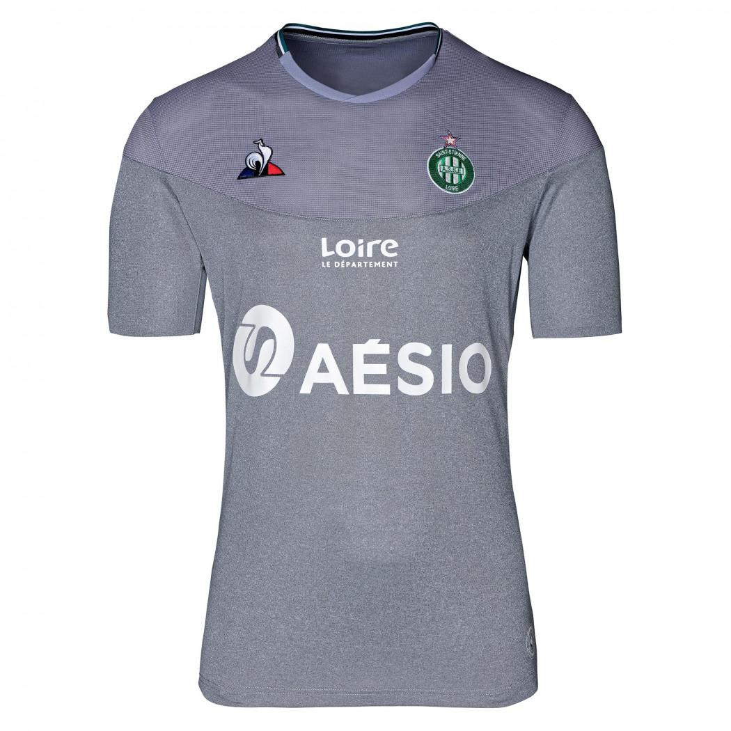 Saint Etienne 2020 nouveau maillot third gris