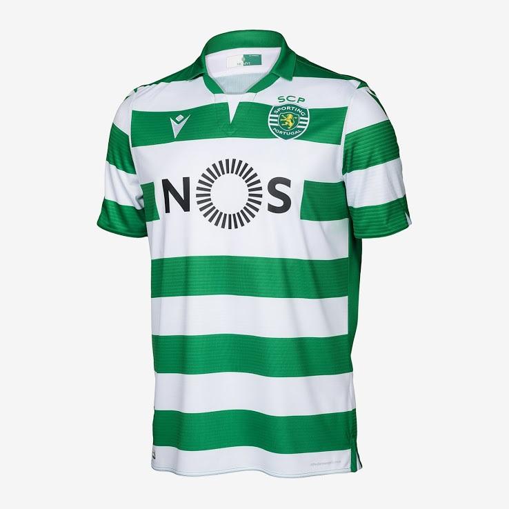 Sporting 2020 nouveaux maillots de football