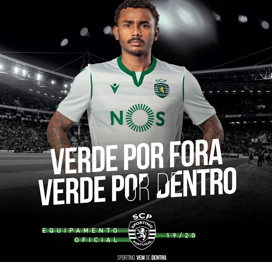 Sporting Portugal troisieme maillot third 2019 2020