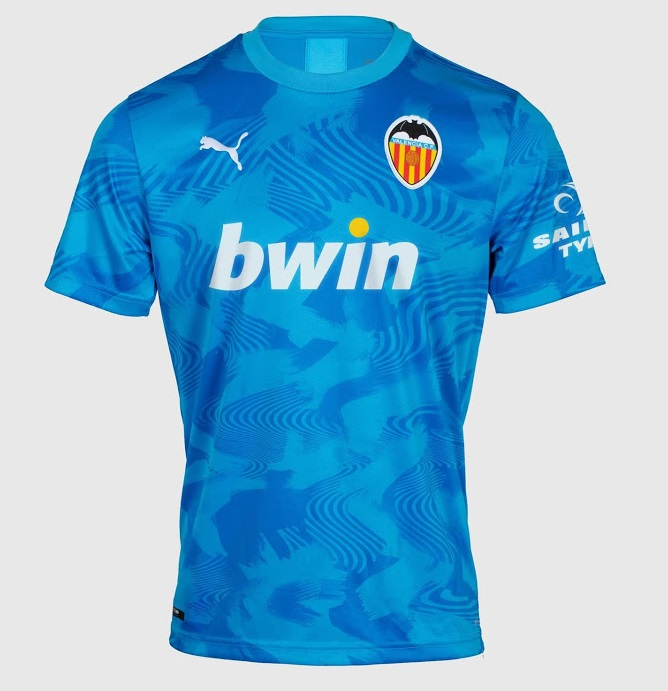 Valencia 2020 3eme maillot third 2019 2020