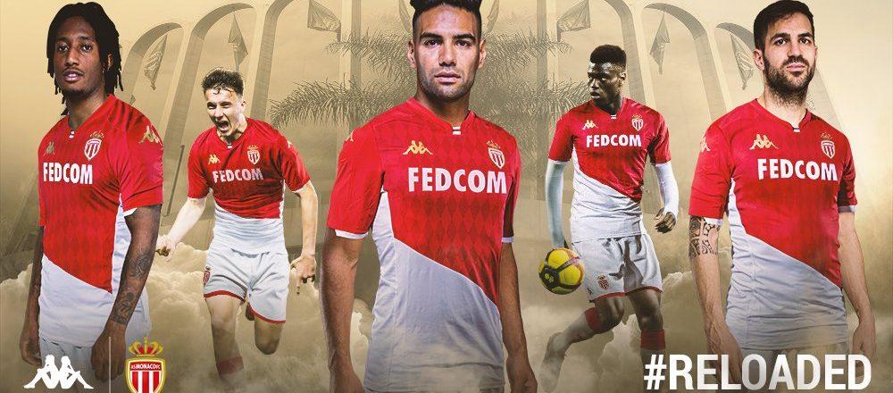 maillot domicile as monaco 2019 2020 kappa