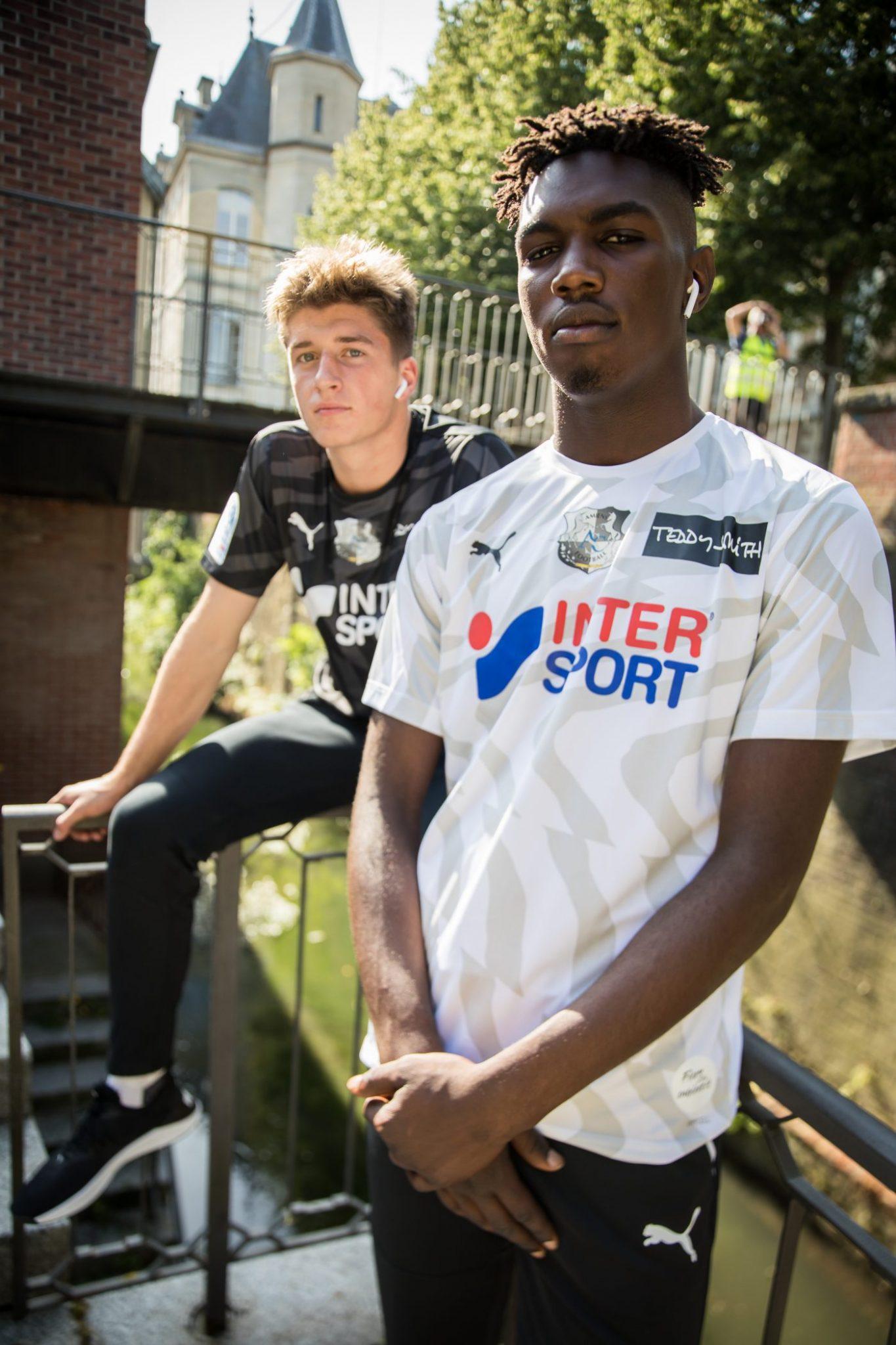 maillots foot amiens 2019 2020
