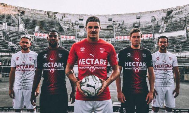 Puma et les nouveaux maillots de foot de Nîmes 2019/2020