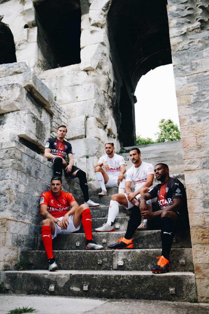 nimes olympique 19 20 nouveaux maillots Puma 2020