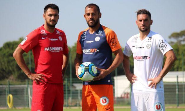 MHSC les nouveaux maillots de Montpellier 2020