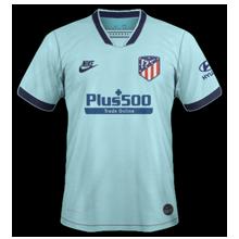 Atletico Madird 2020 maillot third 19 20 bleu ciel