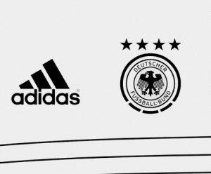 Allemagne Euro 2020 design maillot foot domicile