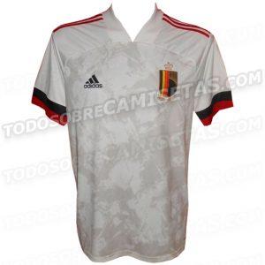 Belgique Euro 2020 maillot de foot exterieur