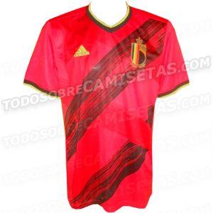 Belgique Euro 2020 maillot domicile foot