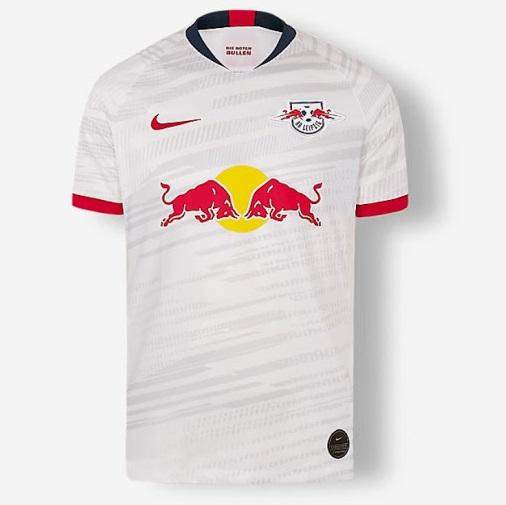 leipzig 2020 nouveau maillot domicile