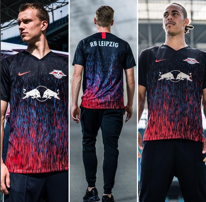 leipzig 2018 2020 troisieme maillot third Nike