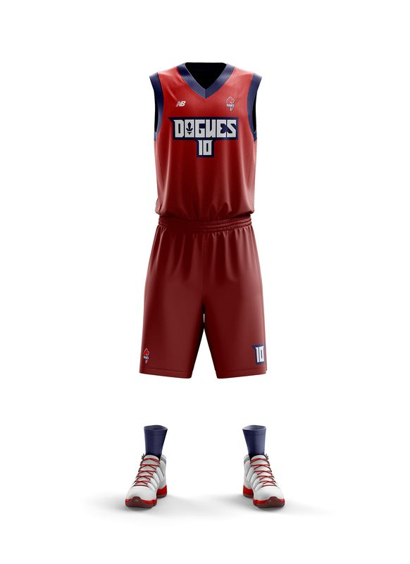 maillot Lille NBA LOSC basket dogues