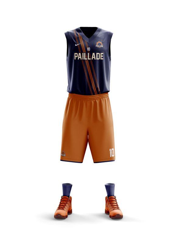 maillot Montpellier NBA MHSC basketball