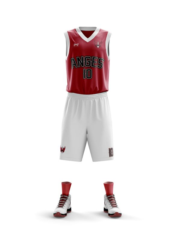 maillot Reims NBA basketball anges