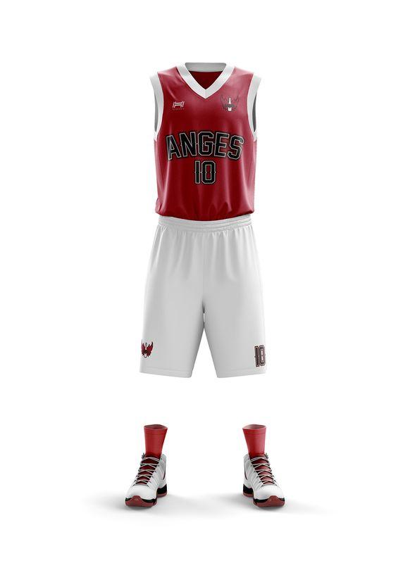 maillot Reims NBA basketball anges