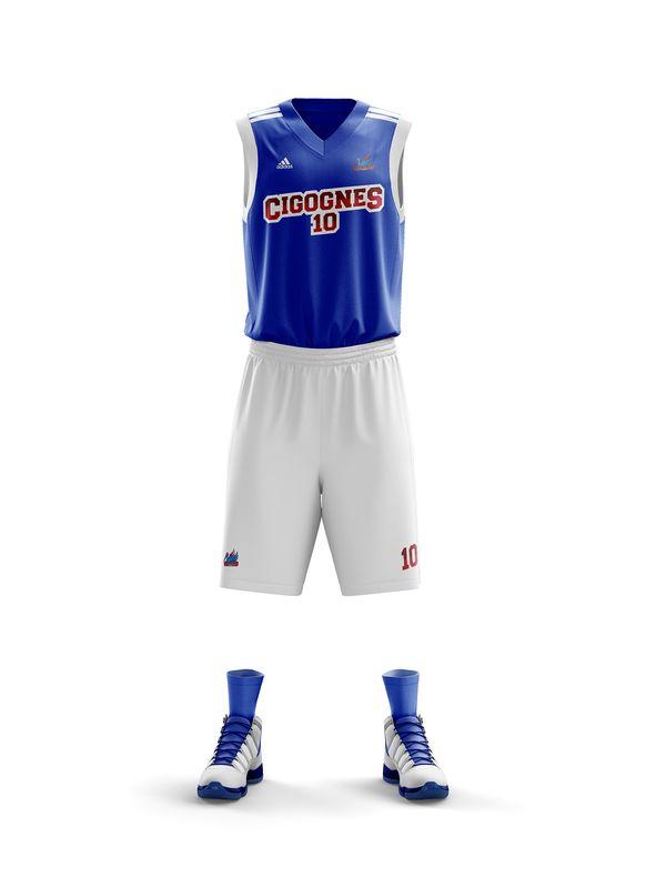 maillot Strasbourg NBA cigognes