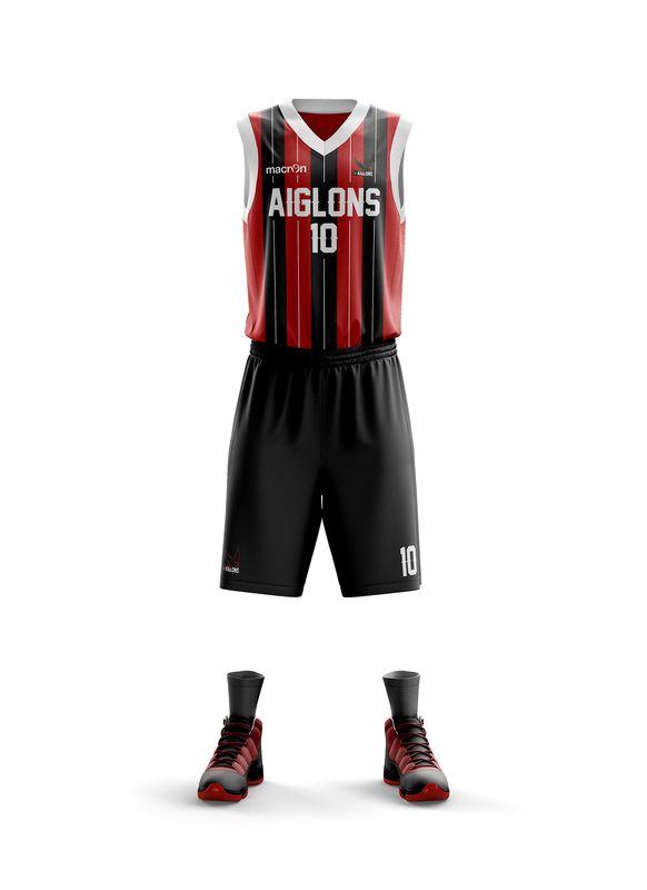 maillot aiglons Nice NBA basket