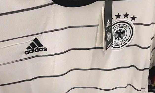 Les maillots de foot Allemagne Euro 2020
