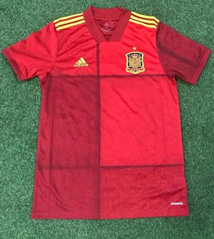 Espagne Euro 2020 maillot de foot domicile
