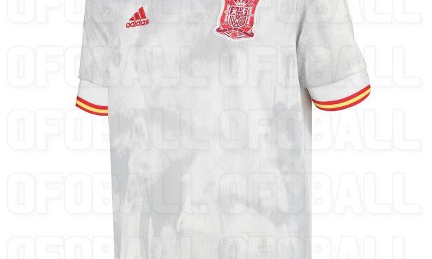 Les maillots de foot Espagne Euro 2020 avec Adidas