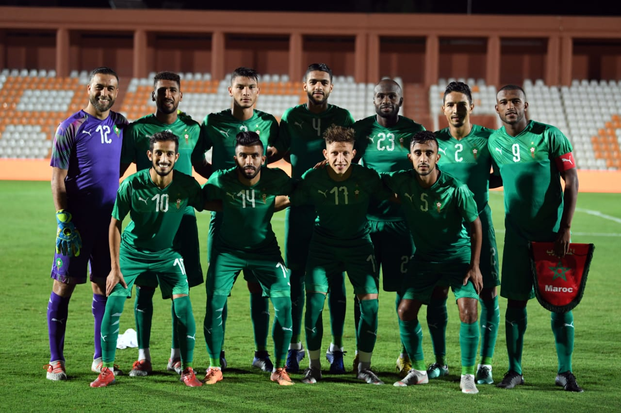 Maroc 2019 maillot de foot exterieur vert Puma