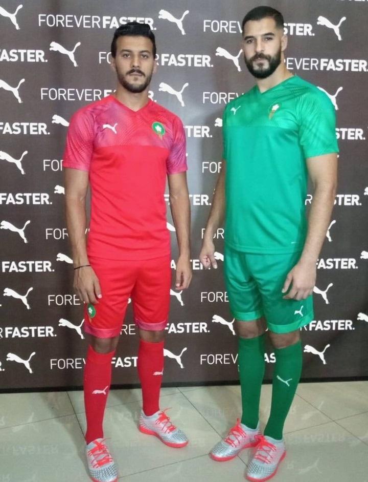 Maroc 2019 maillot de football