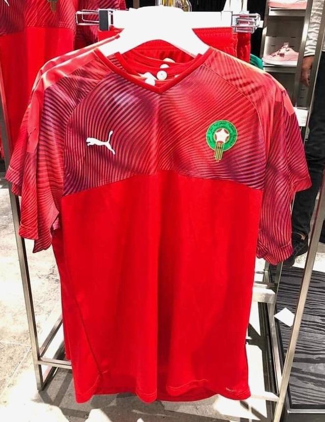 Maroc 2019 maillot foot domicile Puma