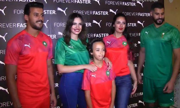 Les nouveaux maillots Maroc 2019 chez Puma