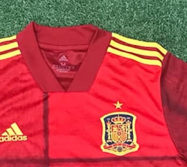 nouveau maillot domiicle Espagne Euro 2020