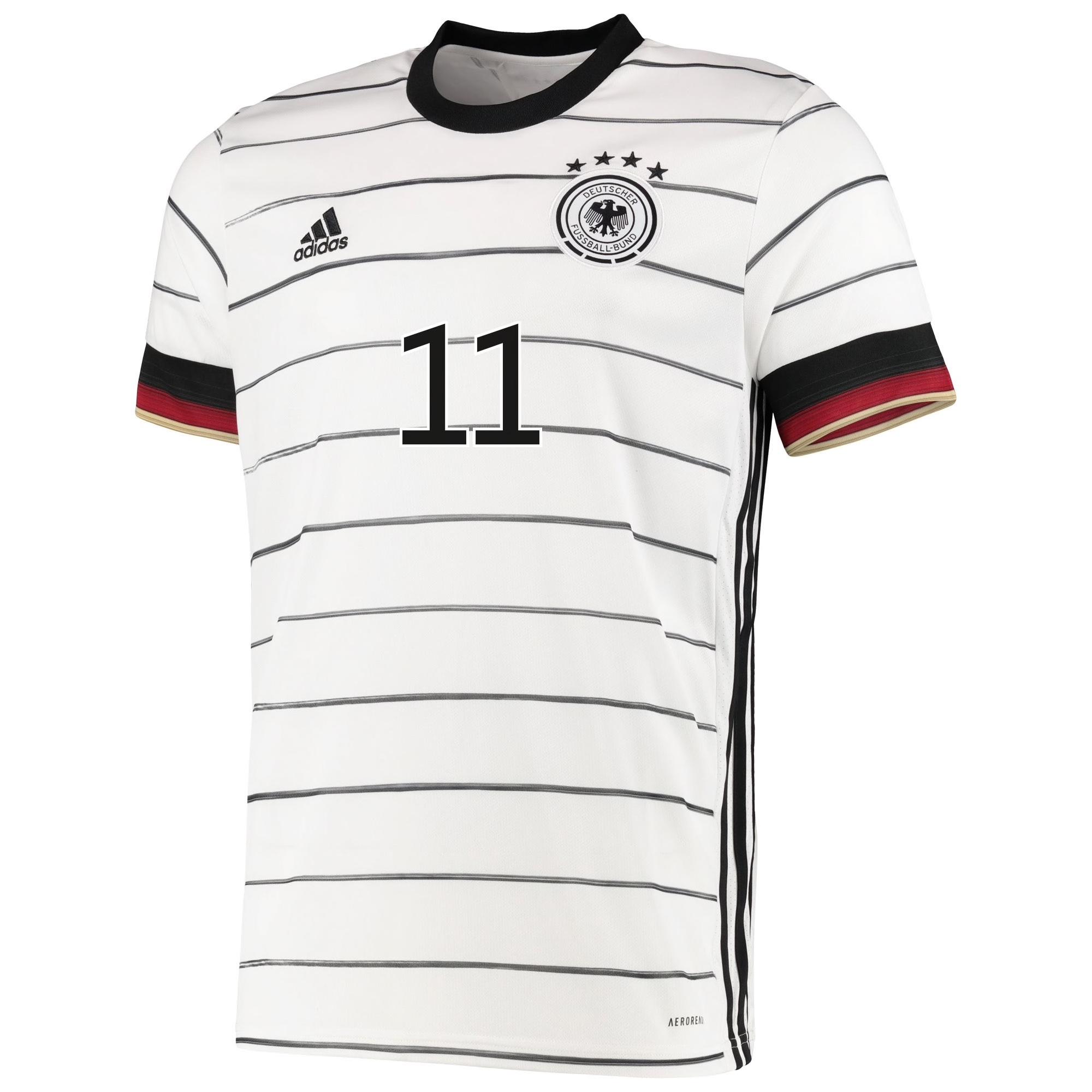 Allemagne Euro 2020 maillot domicile foot