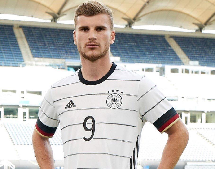 Allemagne Euro 2020 maillot domicile officiel