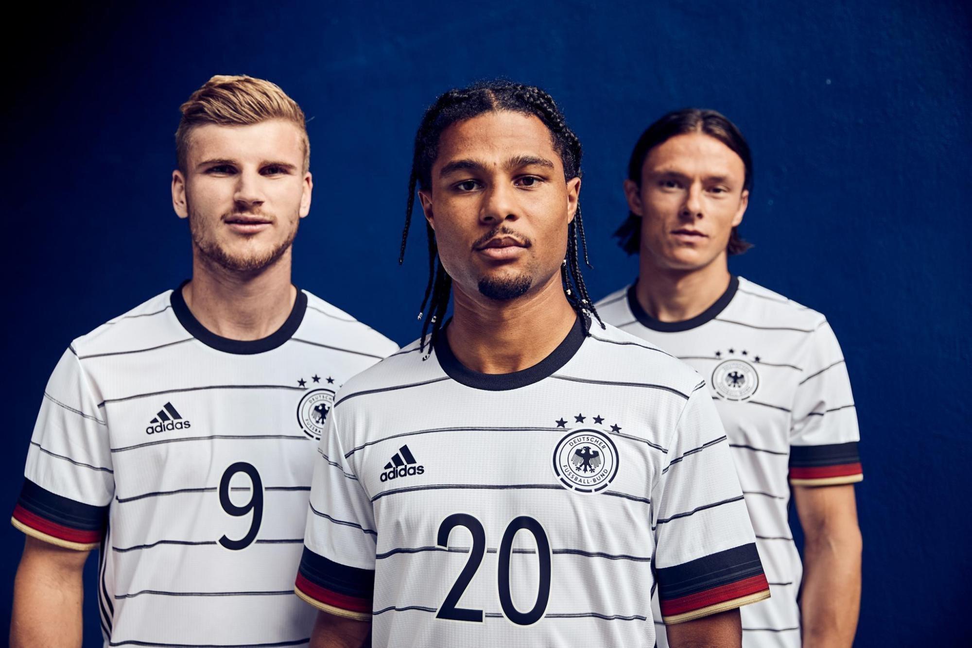 Allemagne Euro 2020 nouveau maillot domicile football