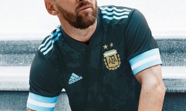Le nouveau maillot extérieur Argentine 2020 Copa America