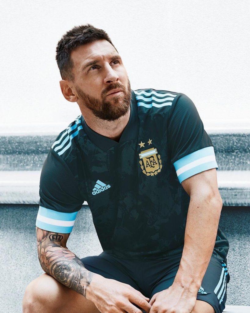 Argentine 2020 maillot de foot Copa America Messi