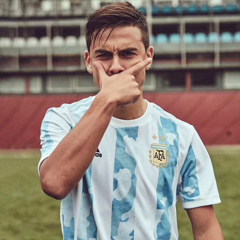 Argentine 2021 maillot domicile football Dybala