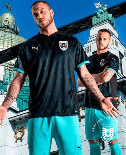 Autriche Euro 2020 maillot exterieur 1